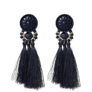 Accessories - Faceted Tassel Earrings
